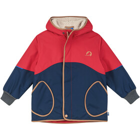 Finkid Nalle Mukka Winter Jacket Kids navy/cinnamon